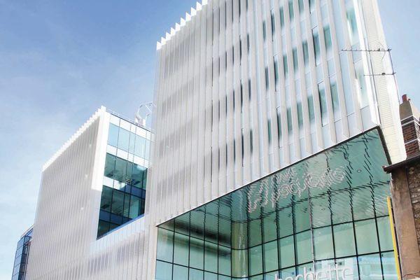 Composition dynamique pour immeuble de bureaux cahiers