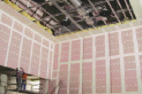 second uvre d coupage acoustique en plaques de pl tre cahiers techniques du b timent ctb. Black Bedroom Furniture Sets. Home Design Ideas