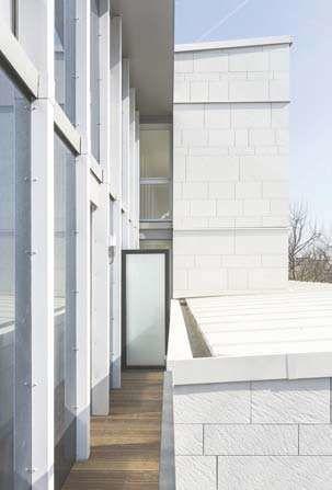six niveaux en ossature bois pour l 39 immeuble pop up cahiers techniques du b timent ctb. Black Bedroom Furniture Sets. Home Design Ideas